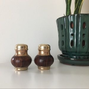 Vintage Mid Modern Salt and Pepper Shakers